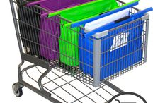 CartBagz / With Cart Bagz, packing your groceries and other merchandise is a breeze! You will never have to use another plastic bag again!