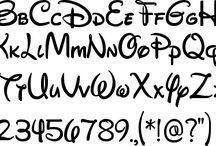 Lettering Tipografía & Caligrafía / De tiografía xD