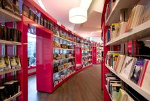 Bookstores and book displays