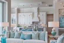 Beachy Living Room