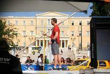 Athens Street Pole Vault men 9/5/16 /  Το άθλημα του άλματος επί κοντώ  της πλατείας Συντάγματος, το Σάββατο 9 Μαίου, λόγω του 3ου Athens Street Pole Vault που διοργανώνει ο ΣΕΓΑΣ μαζί με τον Δήμο Αθηναίων. Πιο συγκεκριμένα, κορυφαίοι αθλητές του αγωνίσματος όπως ...
