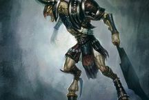 The art of God of War Ascension: Eric Ryan / Eric Ryan's concept art on God of War: Ascension (SCE)