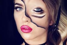 Maquillaje doble cara