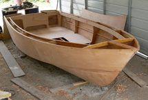 Barche e kayak di legno