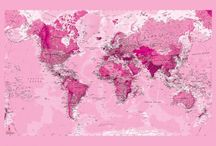 A Pink World - En rosa värld / Everyone and everything pink.