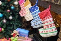 Christmas handmade by 2 Green Monkeys / by 2 Green Monkeys