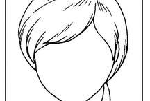 Arc, érzelem, mimika / Források: Раннее развитие детей, Работа с деца със СОП, El sonido de la hierba al crecer, Érzelmek - A Arte de Ensinar e Aprender