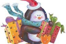Mesevilág: Pingvinek (Dreamland: Penguin) / clip-art
