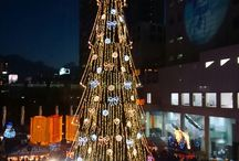 My traveling in Dec. in 2014 / What's a beautiful illumination !! These pics makes me happy.