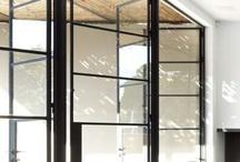 Industriele metaal raam en deurkozijnen