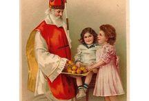 Vive St. Nicolas / Saint Nicolas / Cartes postales avec Saint-Nicolas