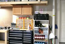 Garage ideas / by Shannon McCluskey