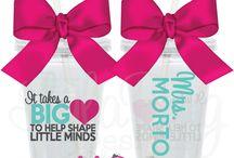 Teacher Gift Idea to make