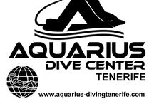 Aquarius Dive Center / Scuba diving Tenerife, Canary Islands. Dive training, padi, iantd and gue. daily diving, snorkeling, introduction dives, try diving, discover scuba, dive equipment retail, rental and maintenance. Dive shop.