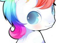 pink fluffy unicorn (≧∇≦)/