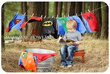 Super Hero photoshoot