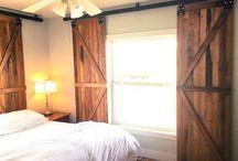 window shutter/ barn door
