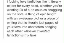 Books/Fanfic/Fangirl Life