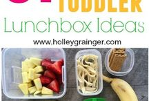Toddler pack lunches