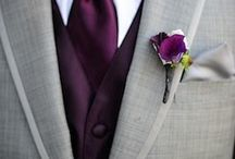 Wedding attire / The colour coordination of all bridesmaids, groomsmen and flowergirl/paigeboy