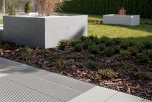 nowoczesne nawierzchnie betonowe / #design, #concrete, #modern, #garden, #pavingstones