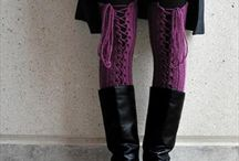 Crochet - Bags, Gloves & Boot cuffs