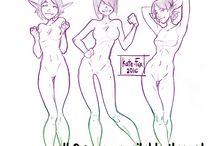 Poses (female)