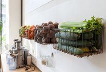 fruit en groente opruimen