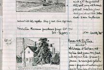 Sketch/Journal/Artbook / Ideas for books