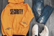 Conjunto suéter amarillo