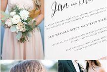 N+D wedding florals