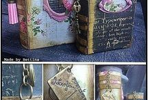 Altered books/junk journals