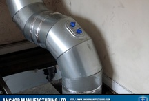 Air ventilation and ducting / Anchor Manufacturing LTD fabricates air ventilation systems and ducting for commercial kitchen projects.