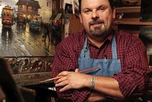 Thomas Kinkade / by Kathy Blackmon