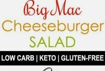 Big Mac Cheese Burger Salad