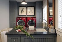 Laundry Rooms / by Heidi Gasser
