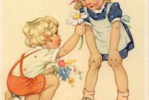 старые открытки с детьми