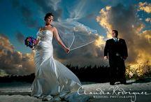 Beautiful Plus size Destination Wedding Dresses- LMDWeddings / Showing off beautiful plus size brides and their stunning wedding gowns in Destination!