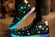 Pantofi luminosi
