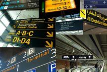 Airport Navigation Signs