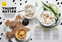 Yum! Food Mag Layouts