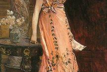 Beautiful Dresses in Art / by Lindsay B