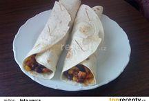 tortily, placky, arabský chlieb...