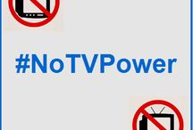 #NoTVPower / #NoTVPower: Let's set up a new trend! Less Television, More Action! What did you do instead of watching TV? Who's in?