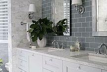Bathroom colours