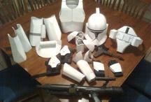 clone trooper kids costume