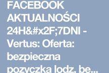 FACEBOOK AKTUALNOŚCI 24H/7DNI
