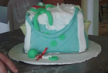 cakes by me / fondant and buttercream piped cakes...my favourite hobby!
