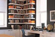 Hall quartos/biblioteca