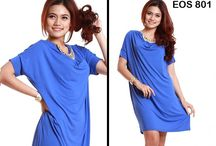 """ COME DRESS ANDRIANA BIRU EOS 801 """